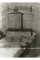 Balança de pesagem de barra de ouro